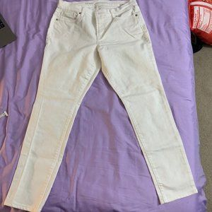 OLD NAVY Curvy Mid-Rise Skinny Jeans 8 SHORT